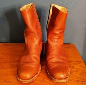 Vtg Frye Leather Boots sz10.5